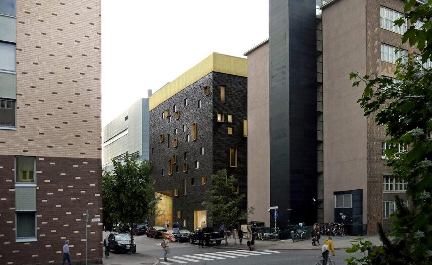 Pop & Jazz Konservatorion uuden kampuksen havainnekuva