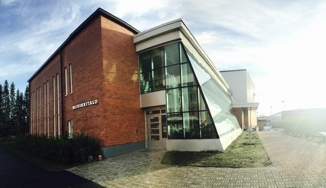 Tornion Musiikkitalon rakennus